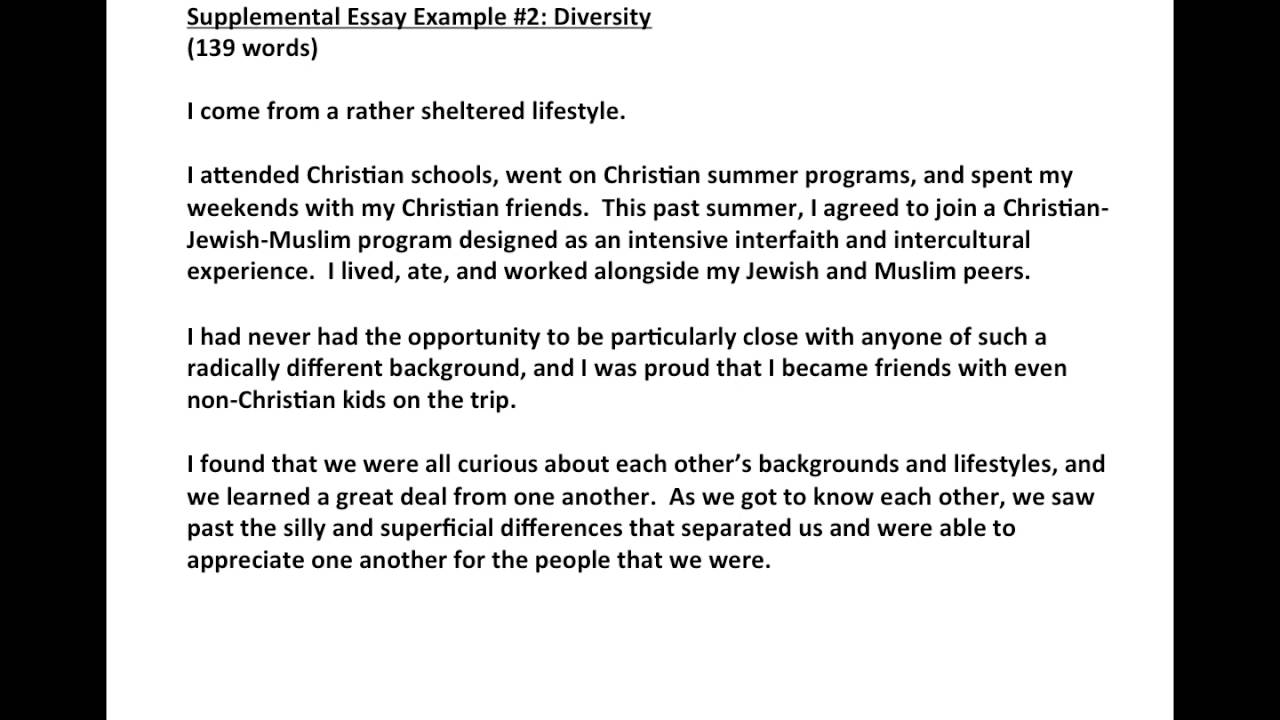004 Diversity College Essay Example Staggering And Inclusion Statement Full