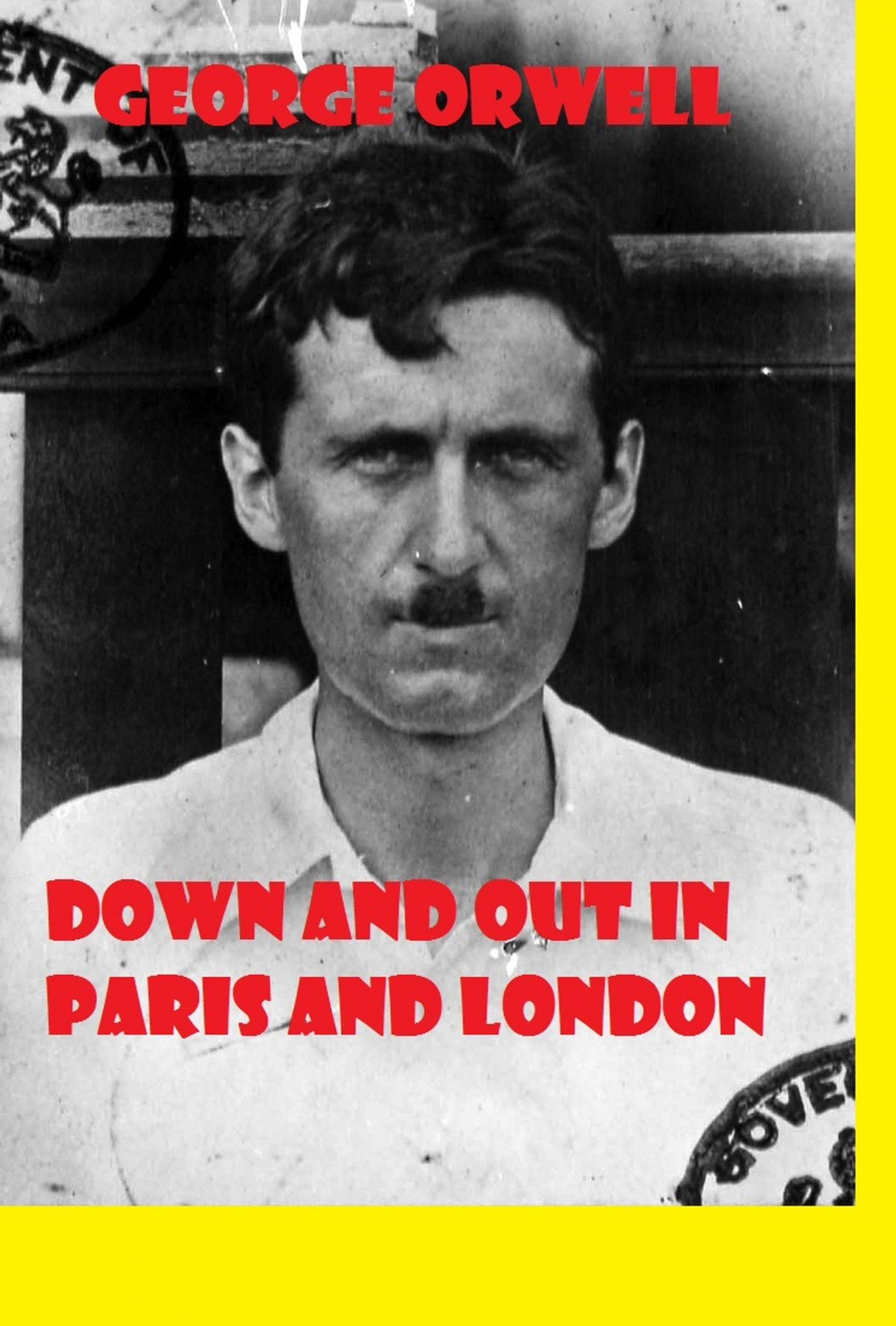 004 Down And Out In Paris London Essay Breathtaking 1920