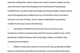004 Essay About Genetic Engineering P1 Striking Disadvantages Of Argumentative On Human Persuasive