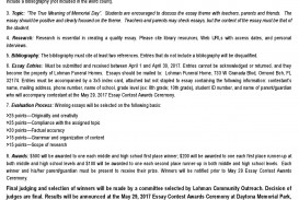 004 Essay Contest Middle School Example Essays On Youth Memorial Day New Smyrna Beach Contests For Students Open To Volusia County Fl H Competitions High Breathtaking Competition Creative Writing Curriculum Online