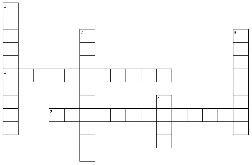 004 Essay Crossword Cw Blank Fascinating Byline Clue Short Puzzle Persuasive Large