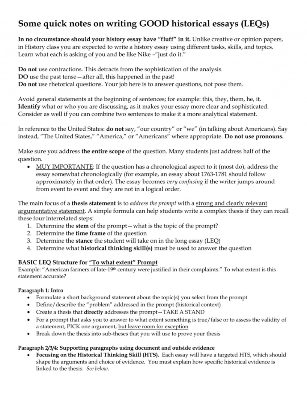 004 Essay Example 007295166 1 How To Write Stupendous A History Outline Good Introduction Paragraph For Extended Large