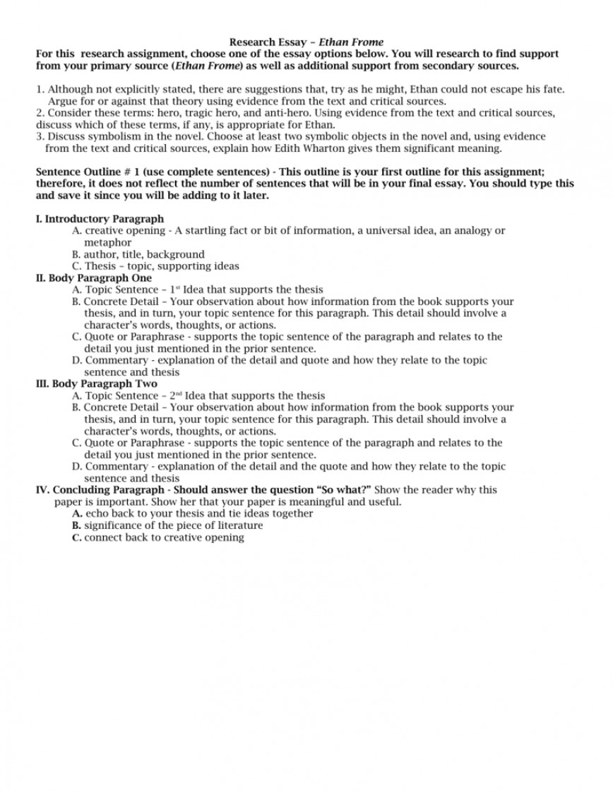 004 Essay Example 009746612 1 Ethan Dreaded Frome Conclusion Ideas Topics
