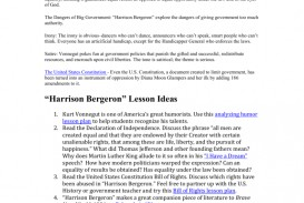 004 Essay Example 009749820 1 Harrison Imposing Bergeron Discussion Questions Quizlet Thesis Conclusion