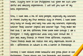 004 Essay Example About Experience In Life Best Bad Memorable