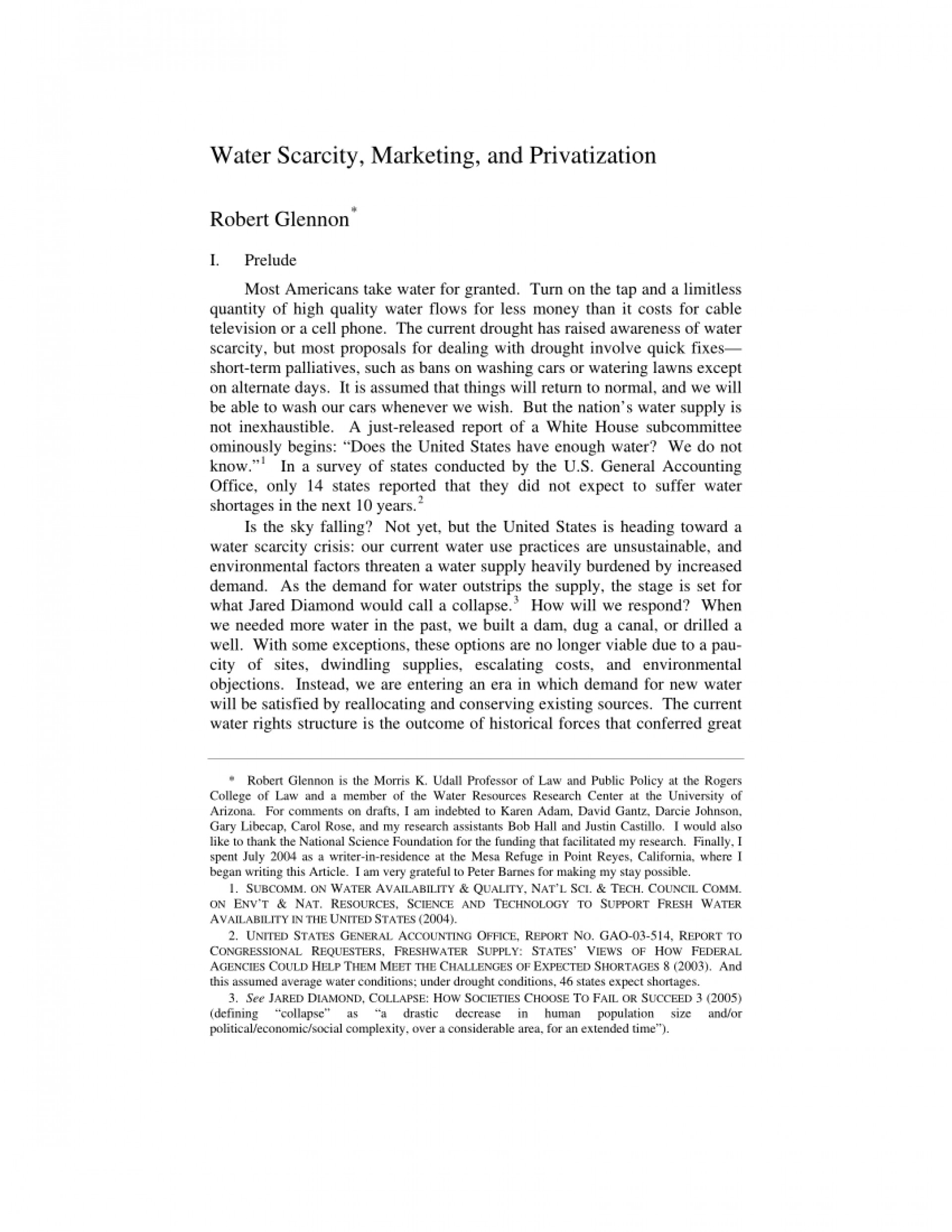 004 Essay Example About Scarcity Excellent Food On Of Water In 200 Words India 1920
