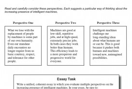 004 Essay Example Act Prompt Fearsome Examples Good Score Average