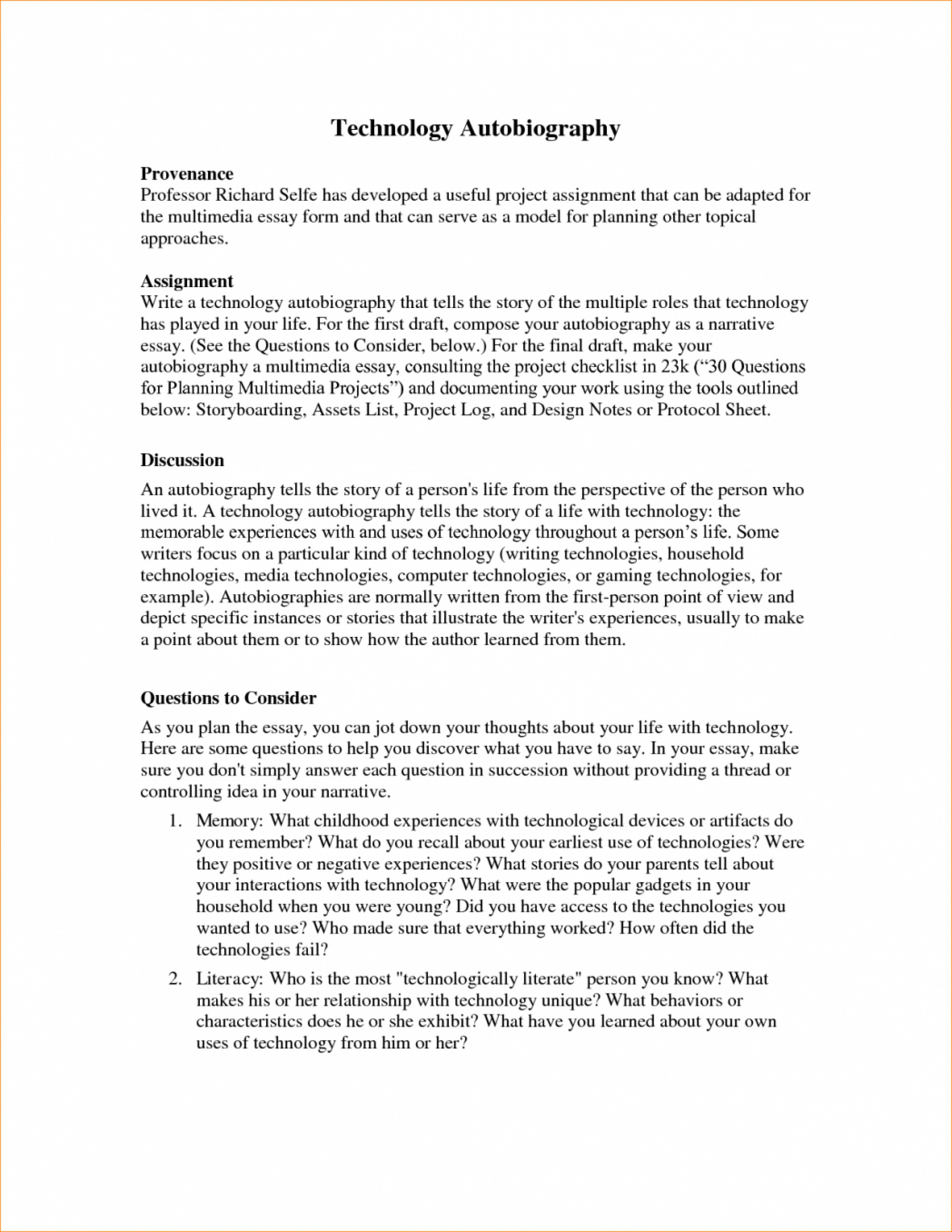 004 Essay Example Autobiography Examples Of Essays Autobiographical How To Write An For Job Writing Graduate School College Admissions Scholarship Outline Written Unusual Pdf Sample 8th Grade Template 1920