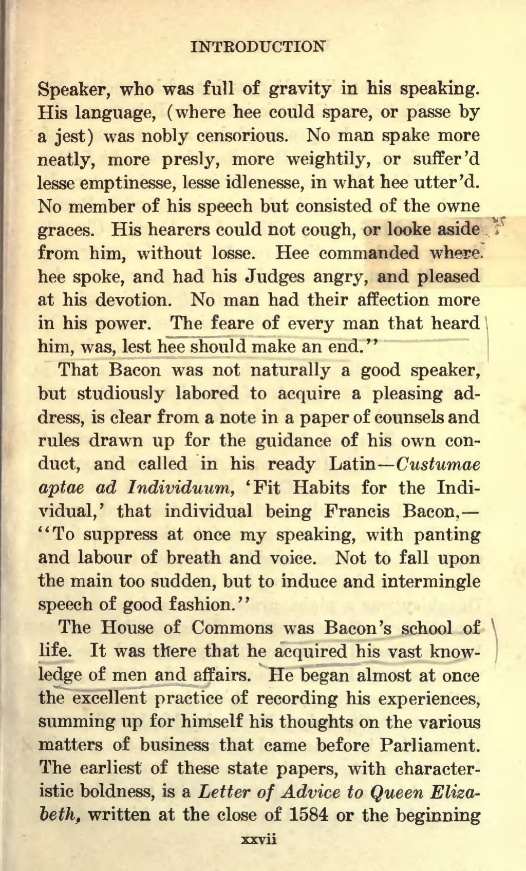 004 Essay Example Bacons Essays Page35 1024px Of Francis Bacon 1908 Scott Amazing Google Books Truth Quiz Bacon's Summary Large