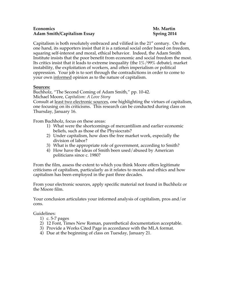 004 Essay Example Capitalism 007998055 1 Breathtaking Topics Question Pdf Full