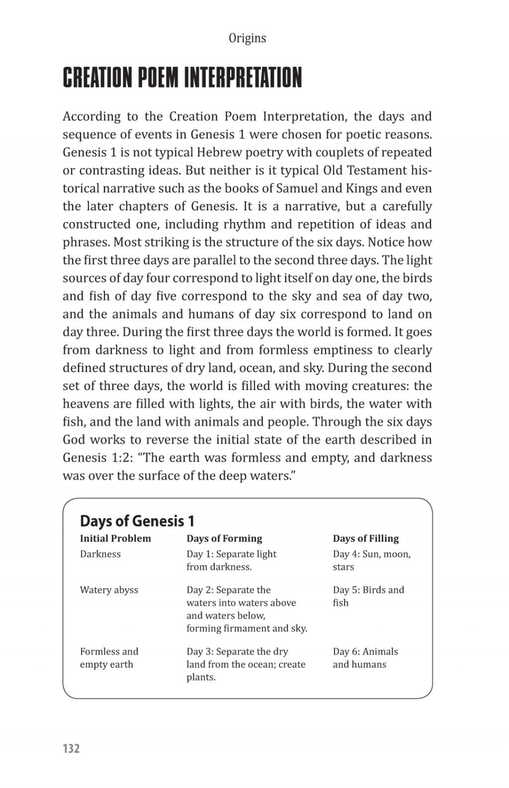 004 Essay Example Creation Vs Evolution Examples Page132 Stupendous Pdf Essays On Origins Vs. Large