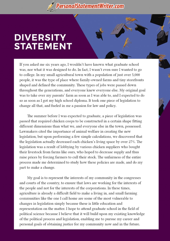 004 Essay Example Diversity Sample Graduate Fascinating Law School Large