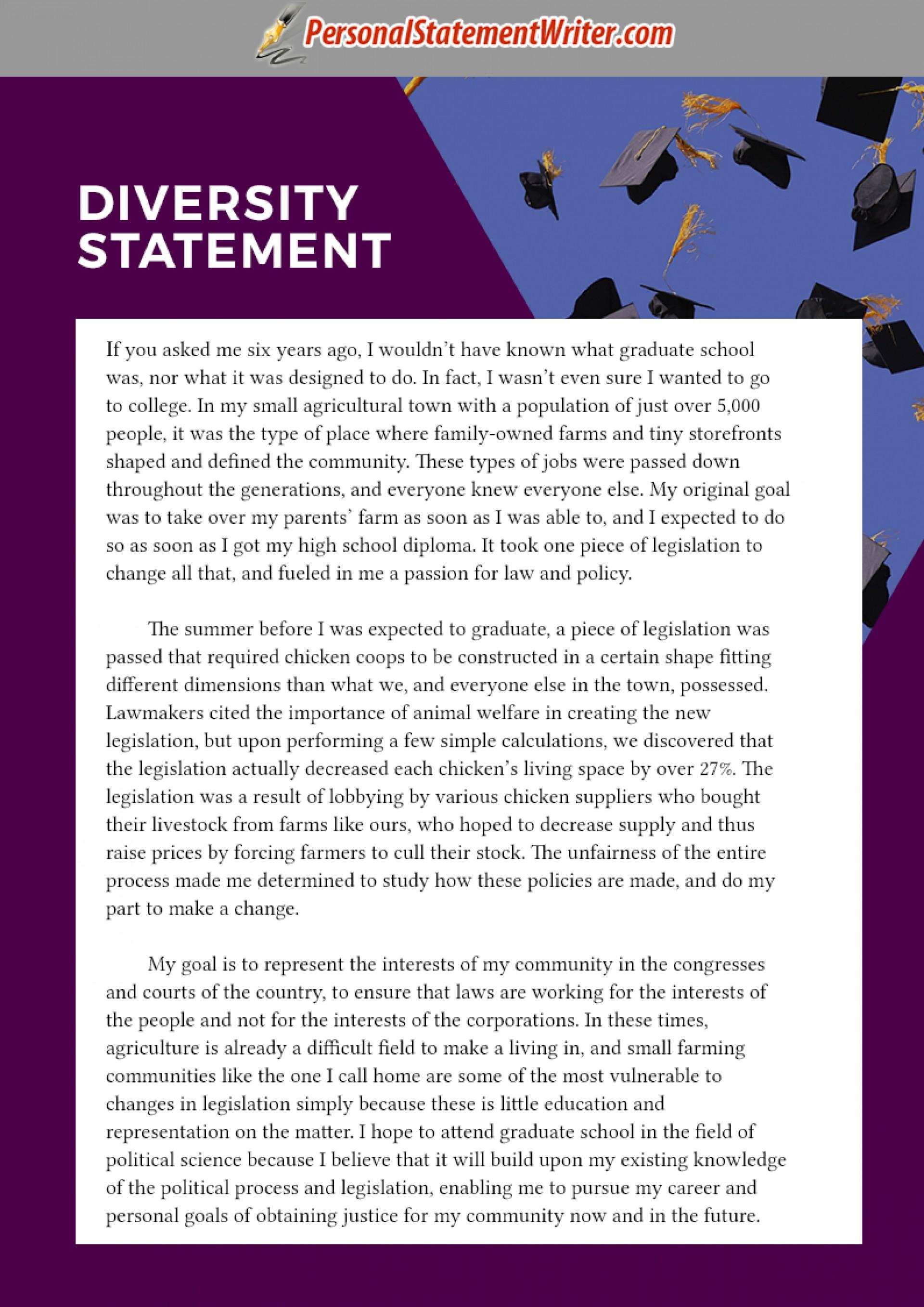 004 Essay Example Diversity Sample Graduate Fascinating Law School 1920