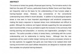 004 Essay Example Effect Of Stress On Students Exceptional Effects Among College Cause And