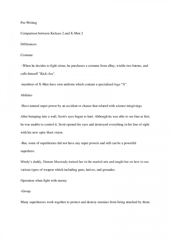 004 Essay Example Englishessaysuperhero Phpapp01 Thumbnail Spring Stupendous Break Plans Alternative Outline 1920