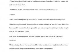 004 Essay Example Englishessaysuperhero Phpapp01 Thumbnail Spring Stupendous Break Plans Alternative Outline