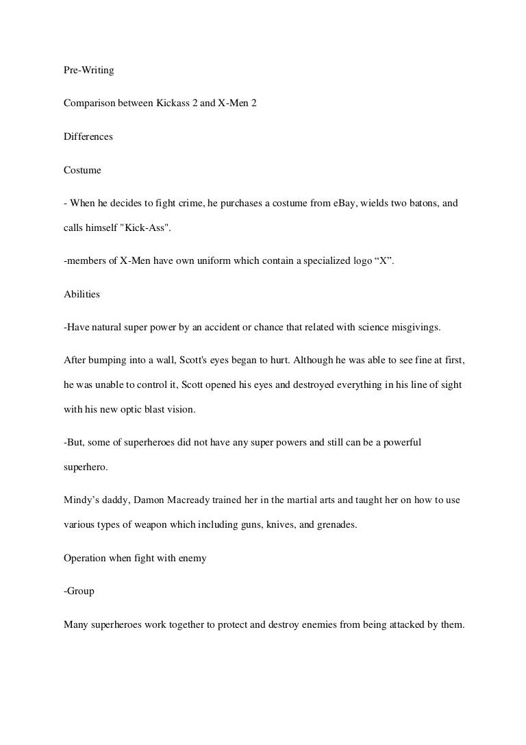 004 Essay Example Englishessaysuperhero Phpapp01 Thumbnail Spring Stupendous Break Plans Alternative Outline Full