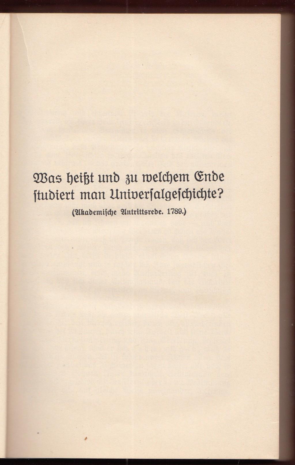 004 Essay Example Friedrich Schiller Schriften Vol Werke Ger Philosophy History Essays Awful Large