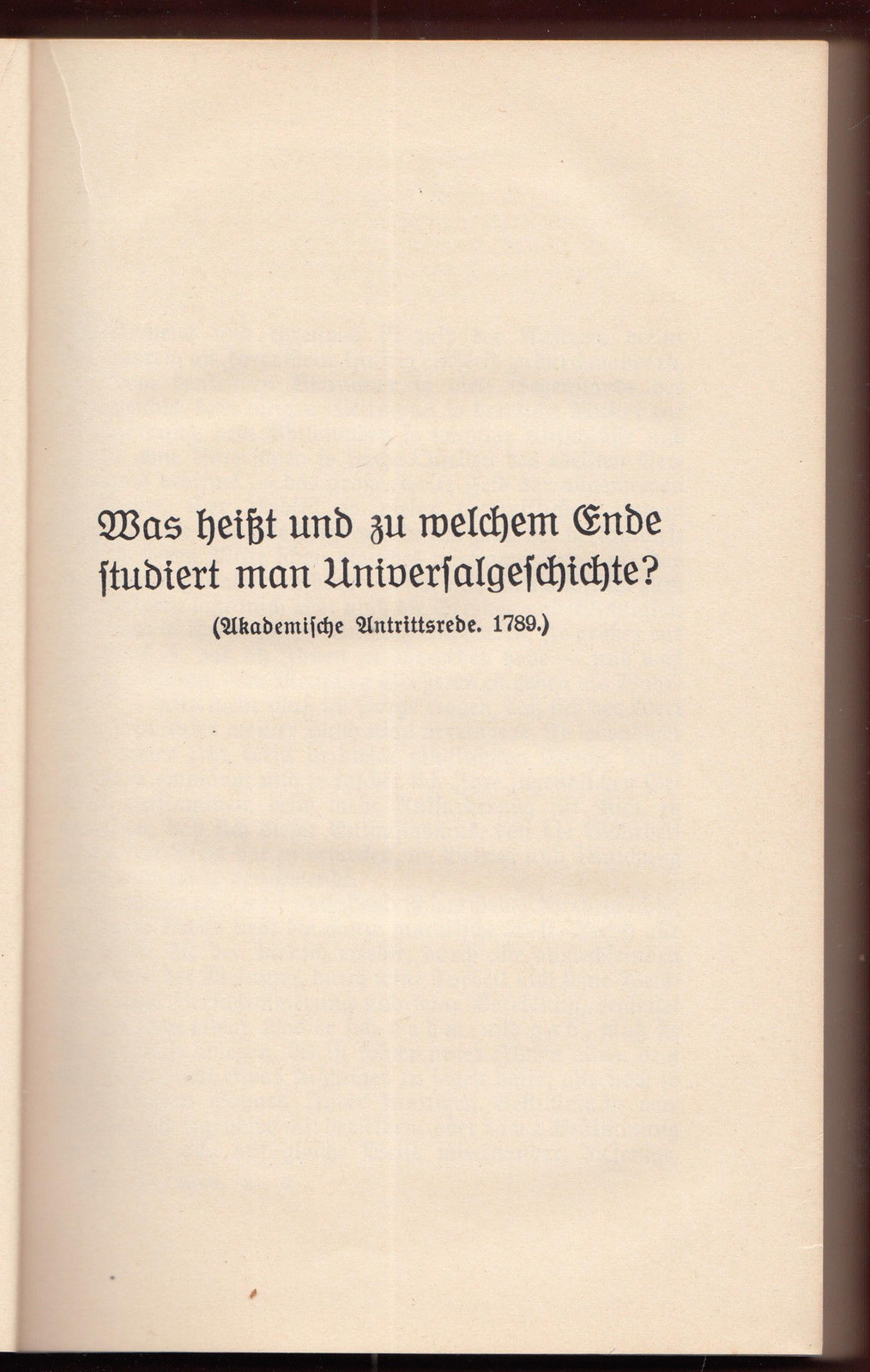 004 Essay Example Friedrich Schiller Schriften Vol Werke Ger Philosophy History Essays Awful 1920