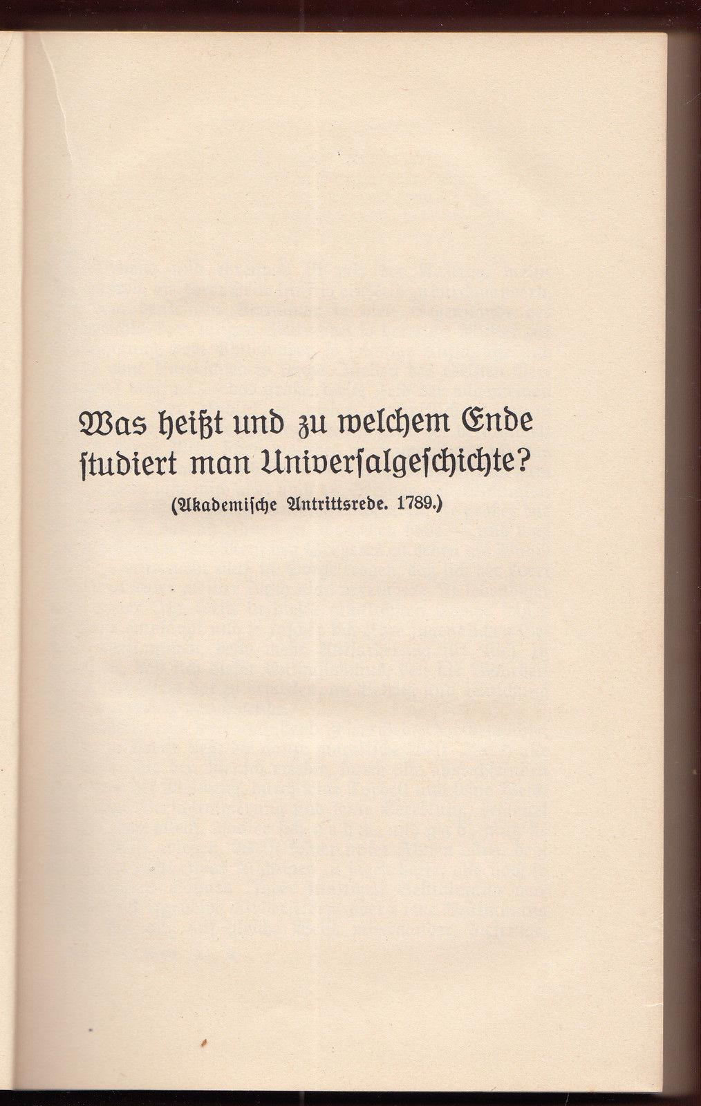 004 Essay Example Friedrich Schiller Schriften Vol Werke Ger Philosophy History Essays Awful Full