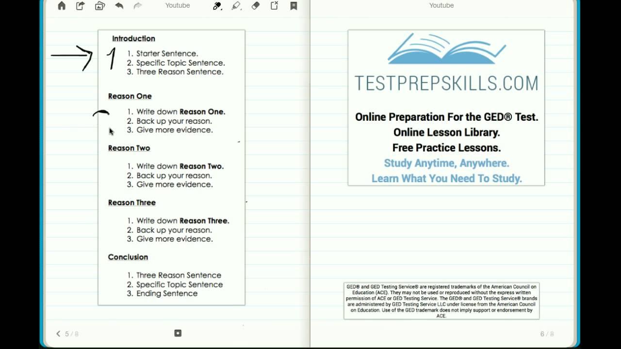 004 Essay Example Ged Topics Stirring List Examples Pdf Full