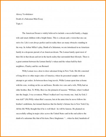 004 Essay Example How To Start Off An About Yourself Amazing With A Hook Quote Analysis On Book 360