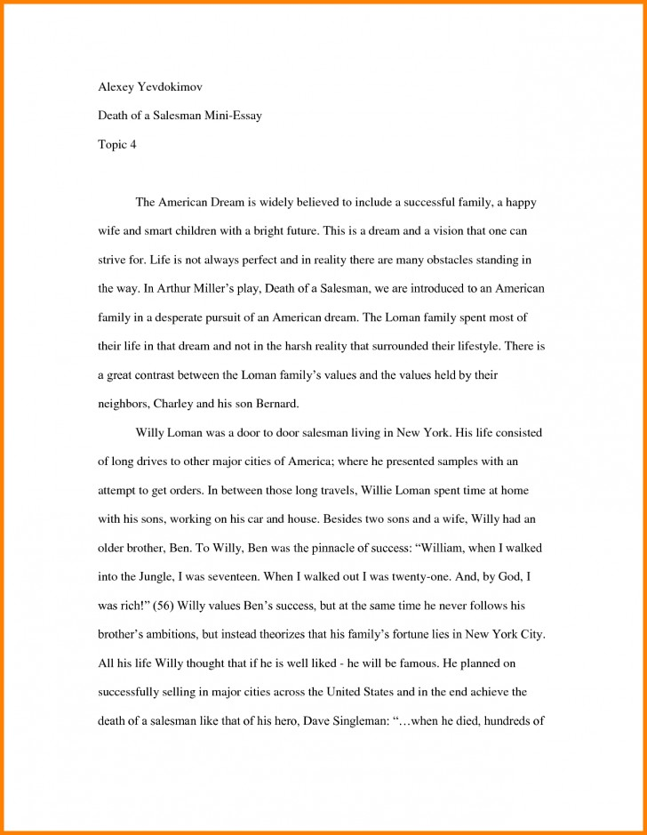 004 Essay Example How To Start Off An About Yourself Amazing With A Hook Quote Analysis On Book 728