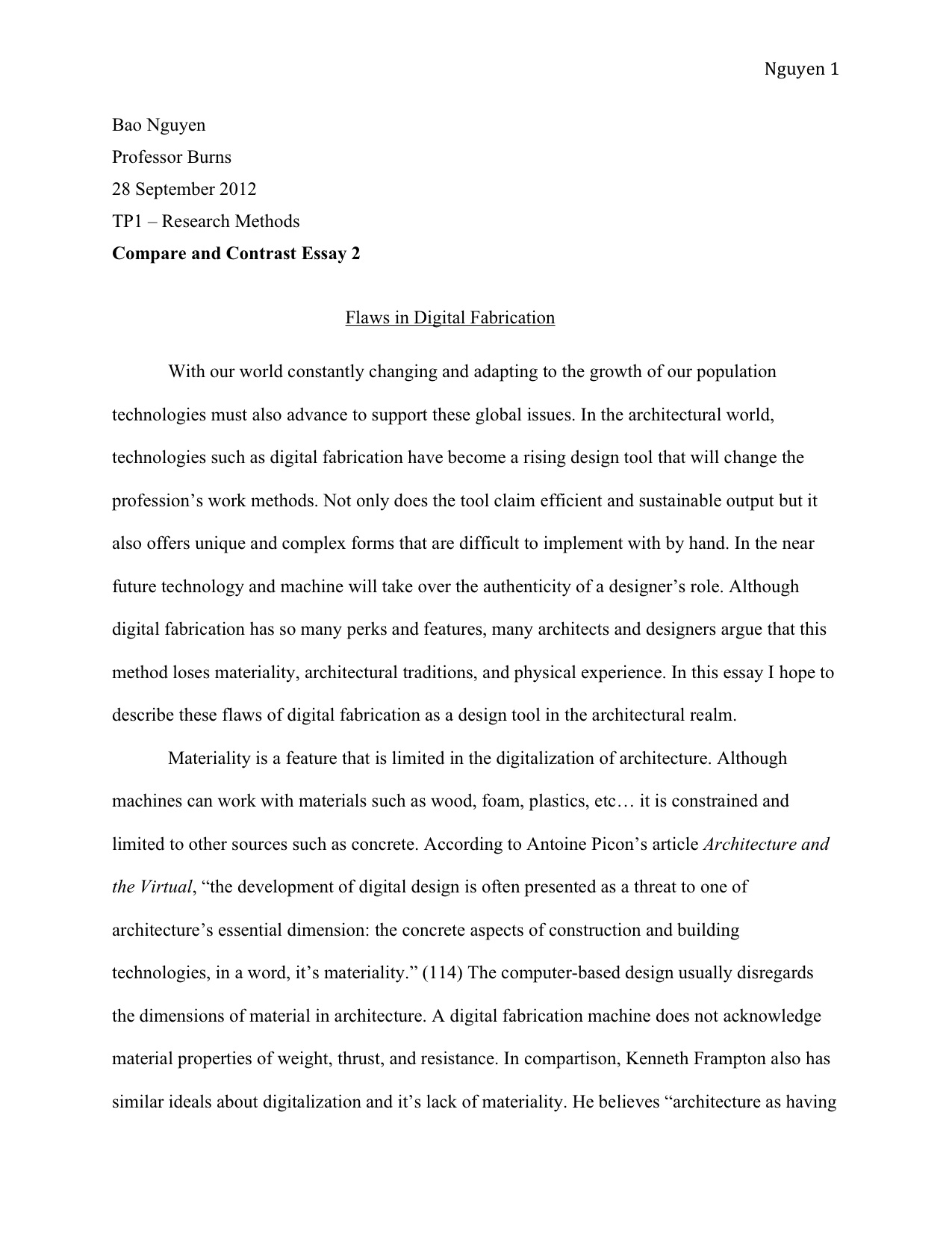 004 Essay Example How To Type An Tp1 3 Awesome Fast A One Page Paper In Apa Format Mla On Mac Full