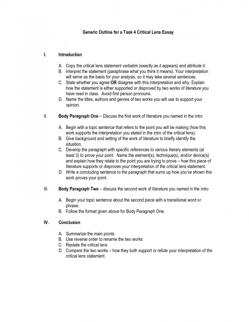 004 Essay Example How To Write Critical Writing Lens Body Paragraphs Great Outline Format 1 Good Review Introduction Analytical Really Conclusion Thinking Higher Marvelous A Thesis Statement For Analysis Step By Literature