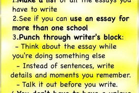 004 Essay Example How To Write The Perfect College Application Staggering A Good Nytimes Examples