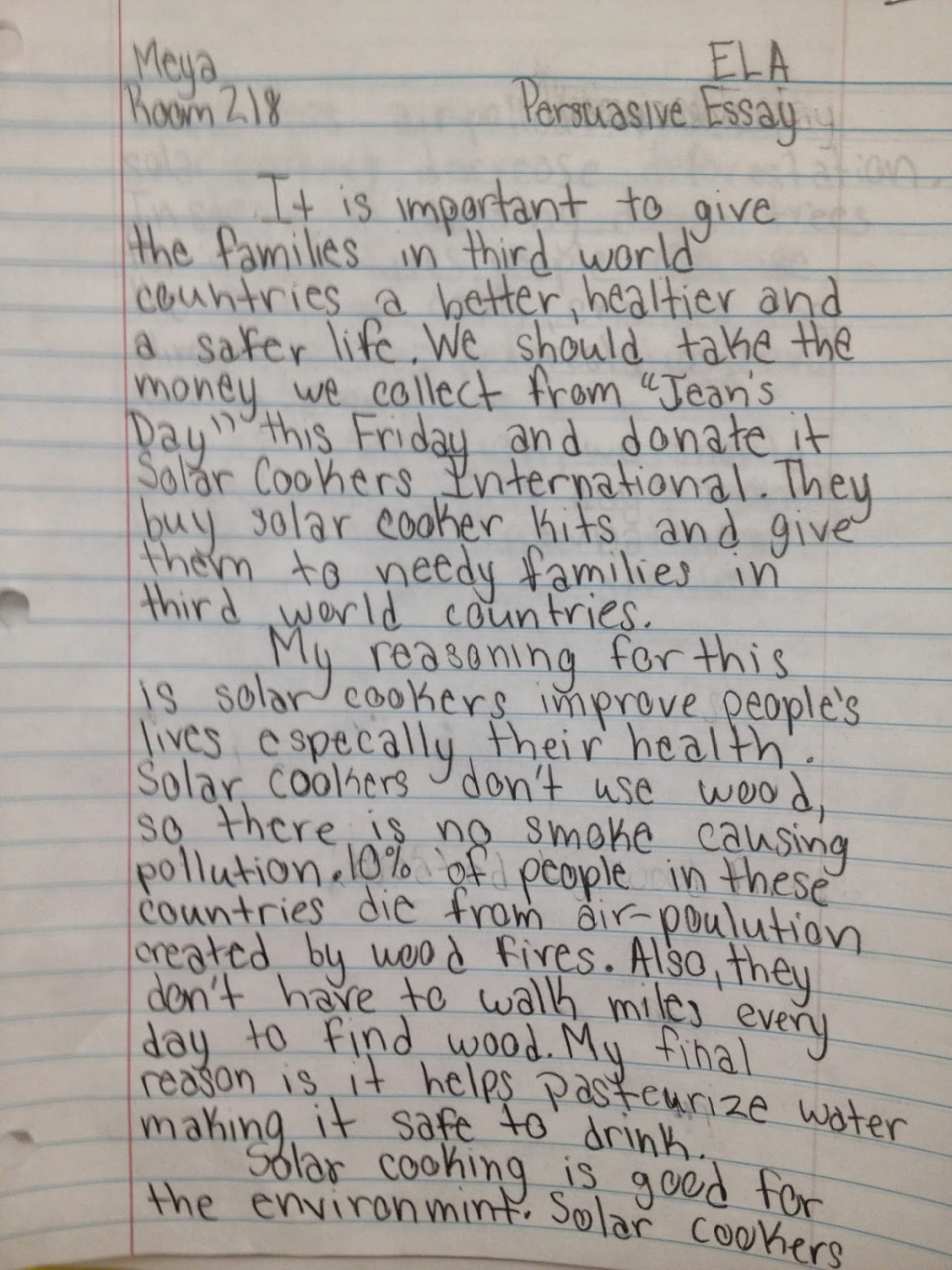 004 Essay Example Img 3373 Essays For Grade Awesome 8 English 8th Graders Narrative Large