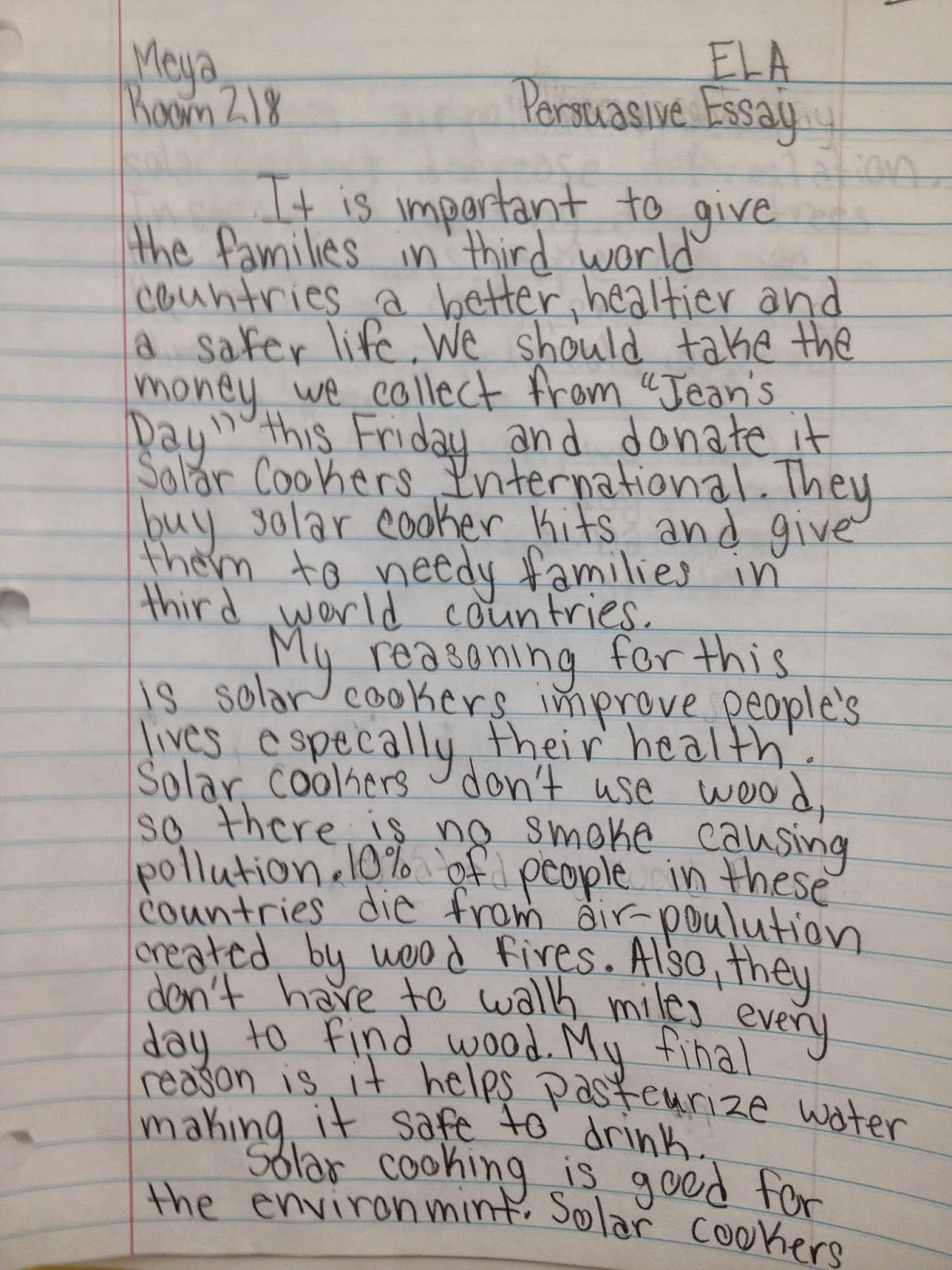 004 Essay Example Img 3373 Essays For Grade Awesome 8 English 8th Graders Narrative Full