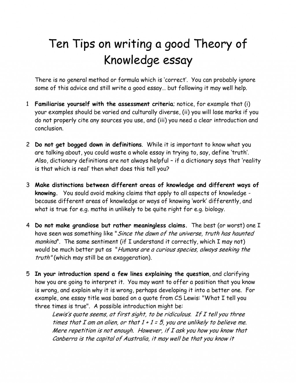 019 Essay About Yourself Example Good Things To Write