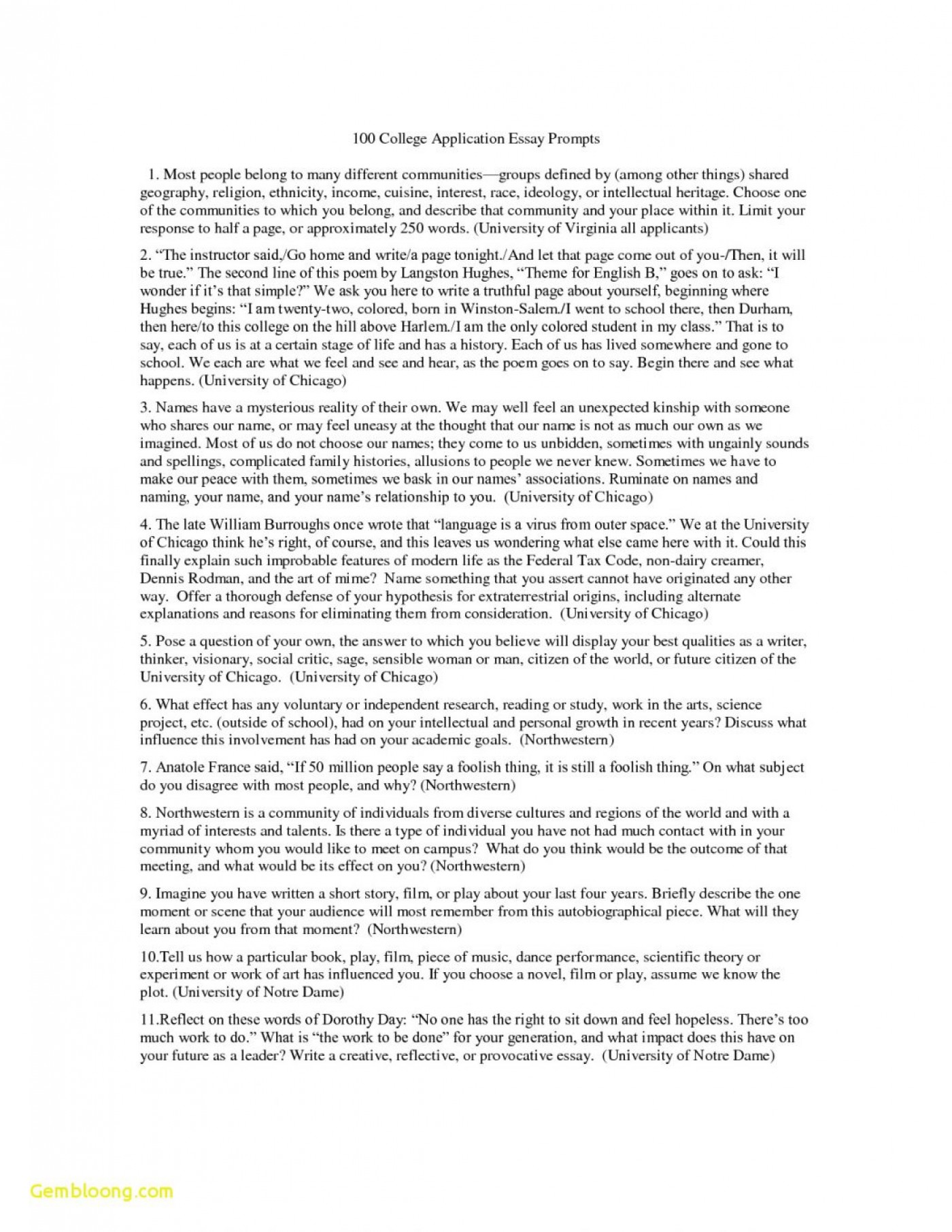 Extended essay minimum words