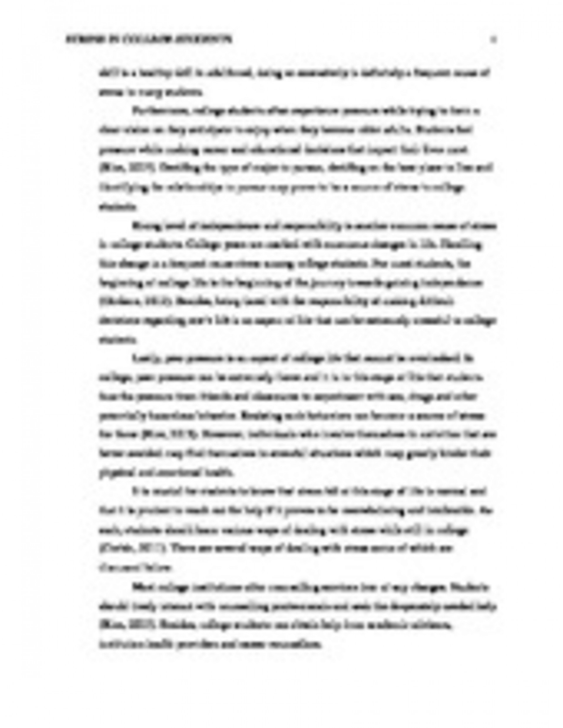 004 Essay Example Management Complete  Copypage3 On Unforgettable Stress And Health Exam In Hindi1920