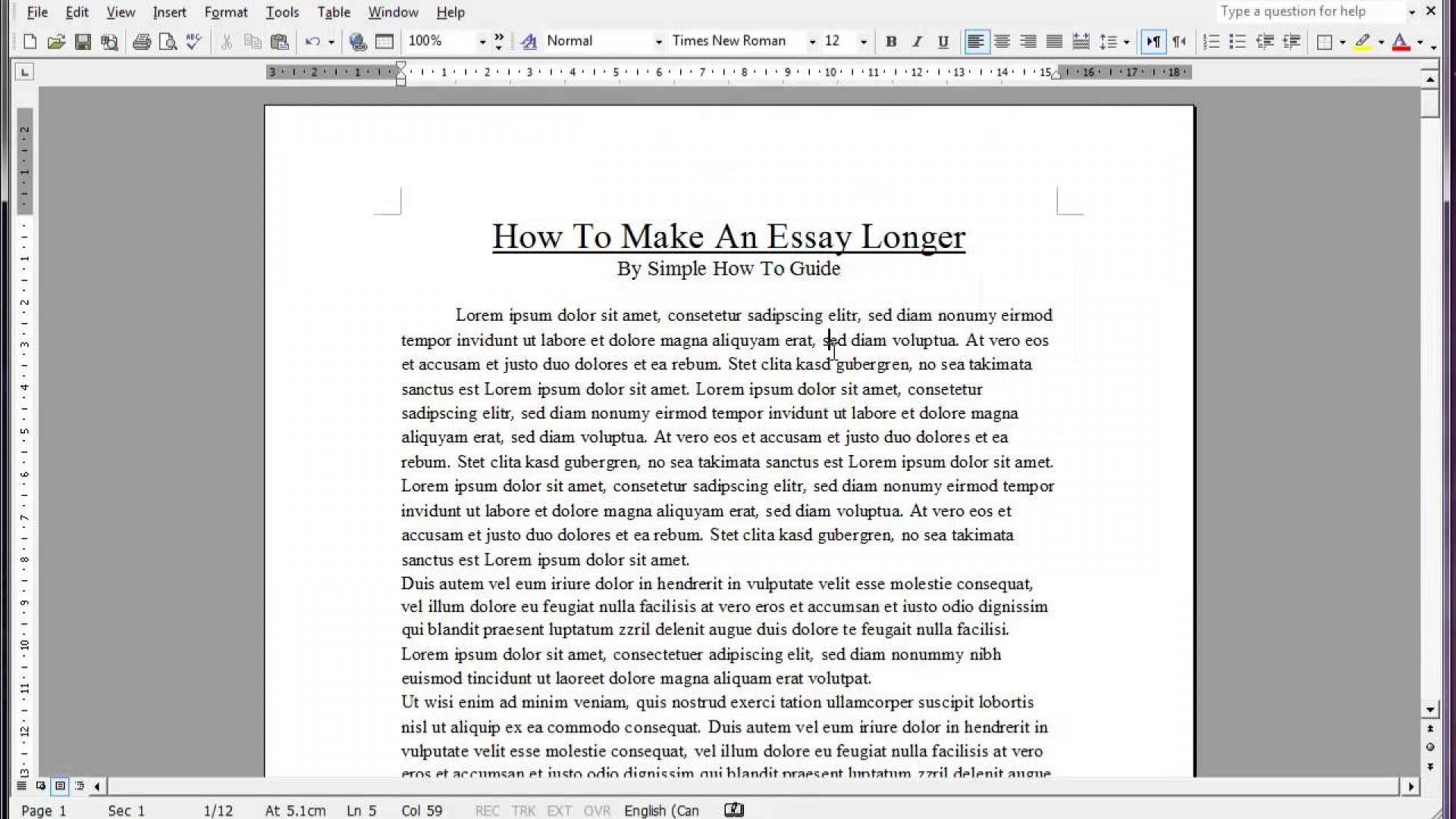 004 Essay Example Maxresdefault How To Make An Longer Word Top Count 1920