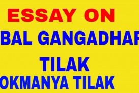 004 Essay Example Maxresdefault Lokmanya Incredible Tilak Aste Tar In Marathi On Bal Gangadhar Hindi Pdf