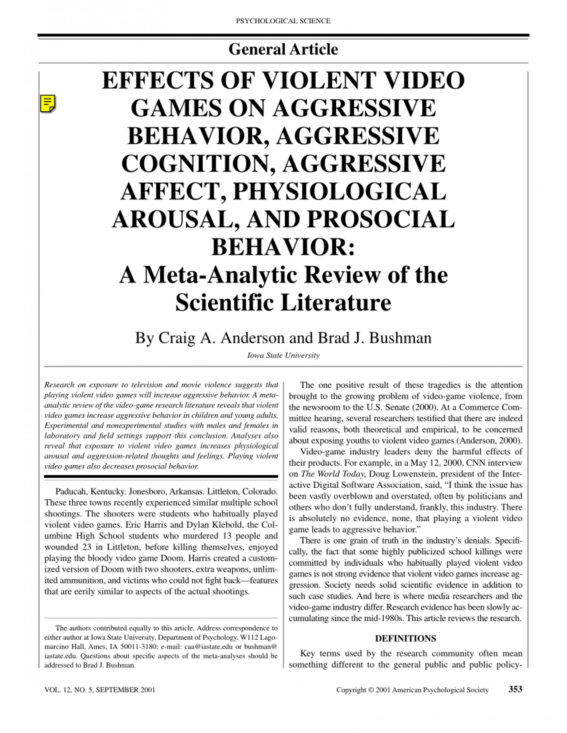 004 Essay Example Negative Effects Of Video Games Top 10 The Good And Bad Positive Pdf 1920