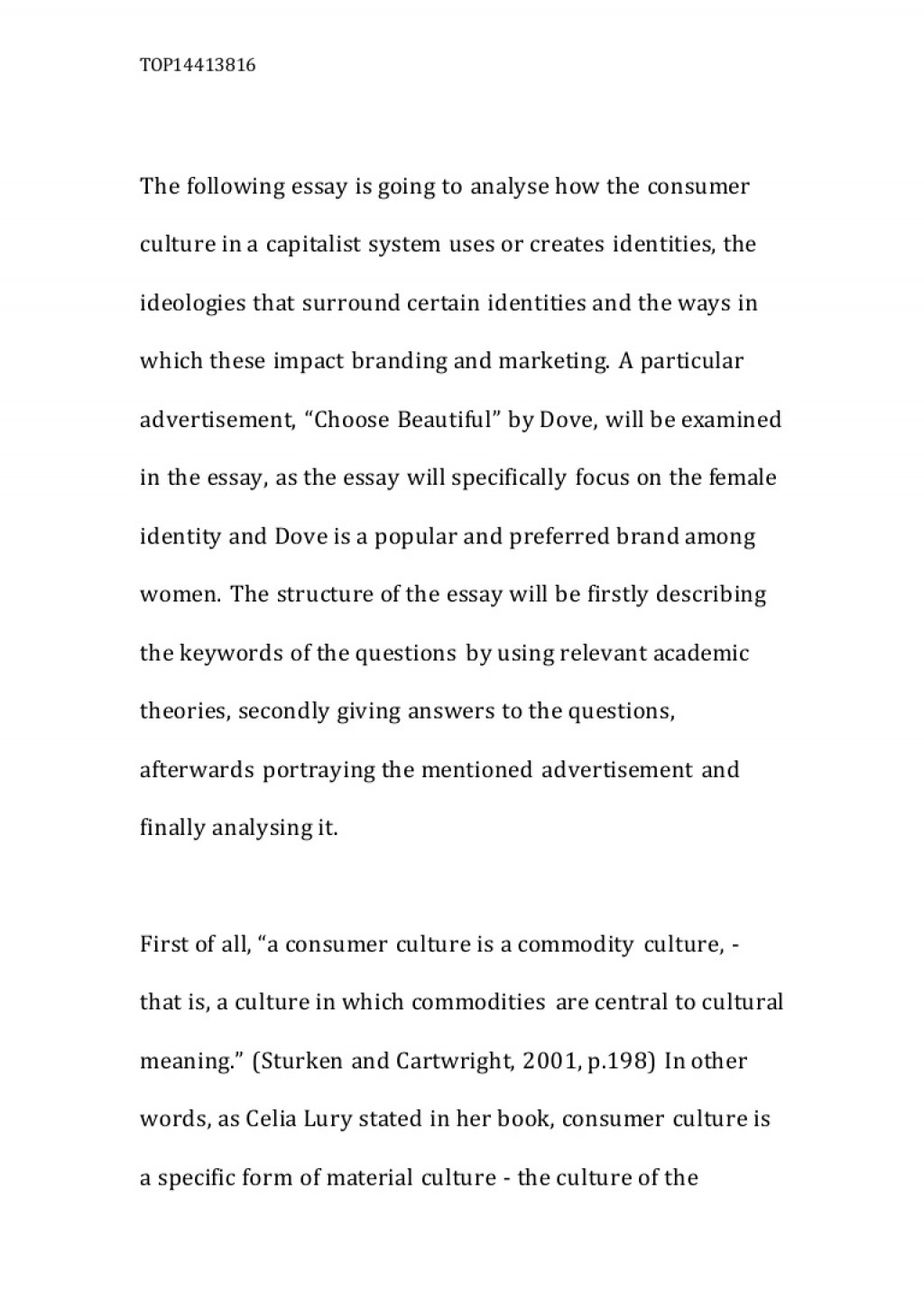 004 Essay Example On Culture Lva1 App6892 Thumbnail Rare College Shock Over Cultural Identity Pakistani Pdf Large