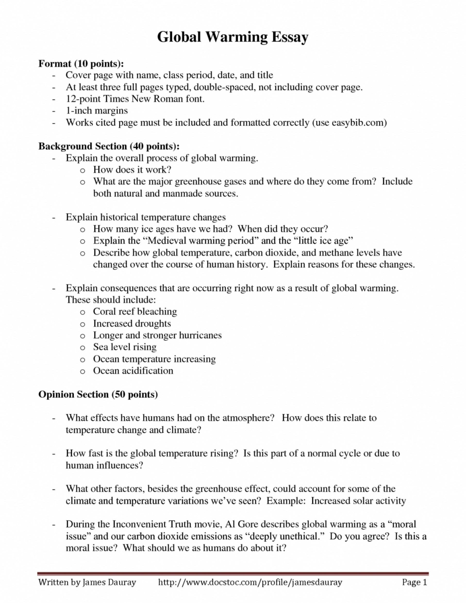 004 Essay Example On Effects Of Global Warming Custom Paper Academic Writing Best Essays Causes L And Report In Hindi Pdf Topic An Argumentative Impressive With Introduction Conclusion Greenhouse Effect 600 Words 1920