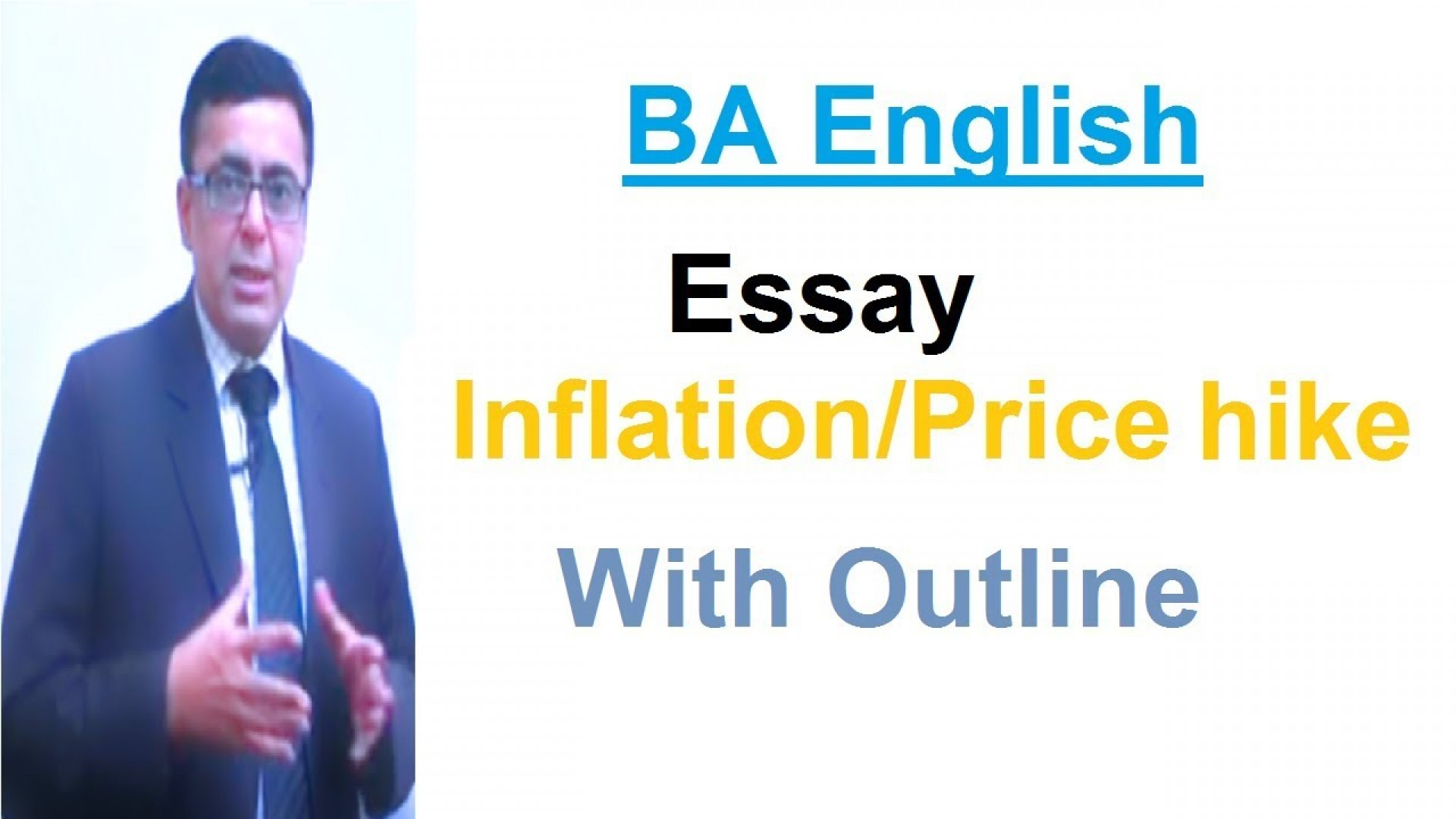 004 Essay Example On Inflation With Outline Stupendous In Pakistan 1920
