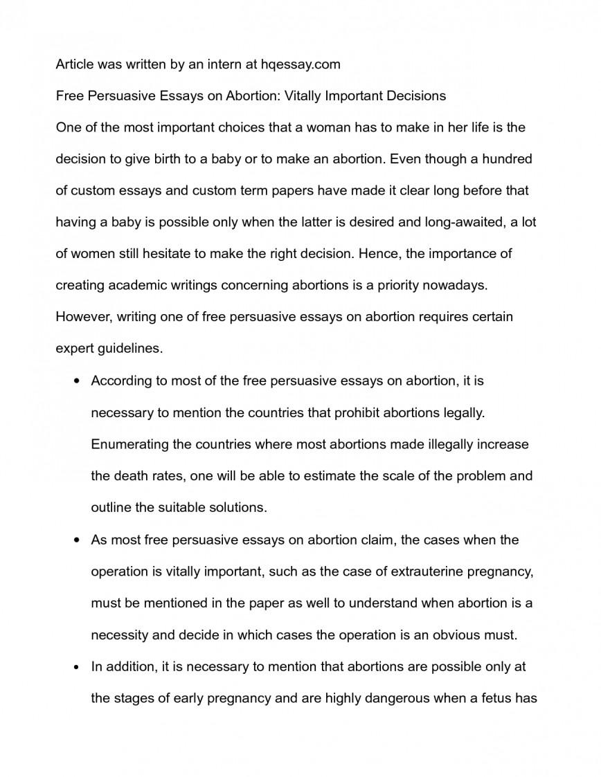 004 Essay Example Outline On Abortion Term Paper Writing Service Dthomeworkhkrc Wrusj Pro Choice Unique Conclusion Topics