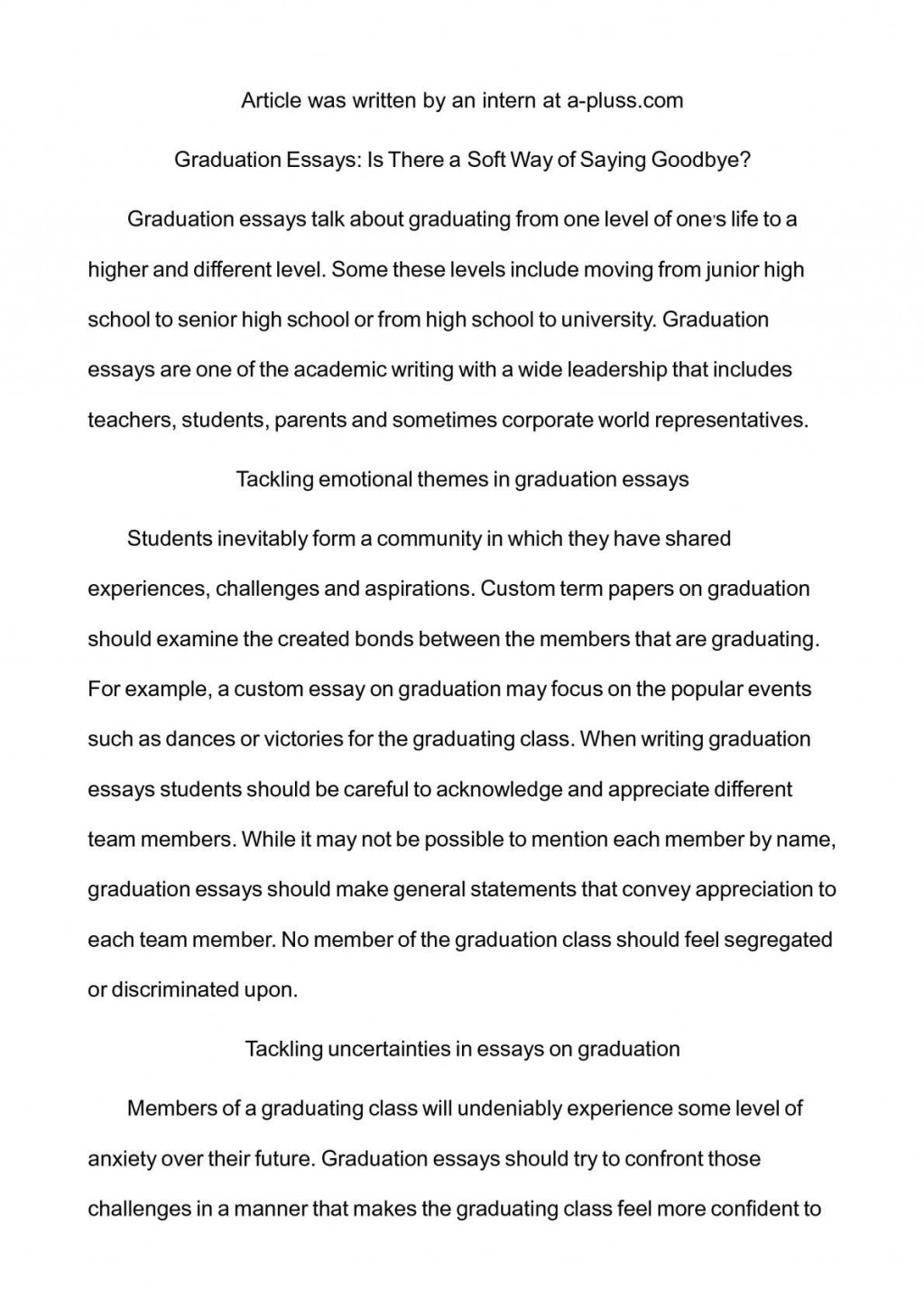 004 Essay Example P1 Formidable Truth Conclusion Alone Triumphs In English Titles Large