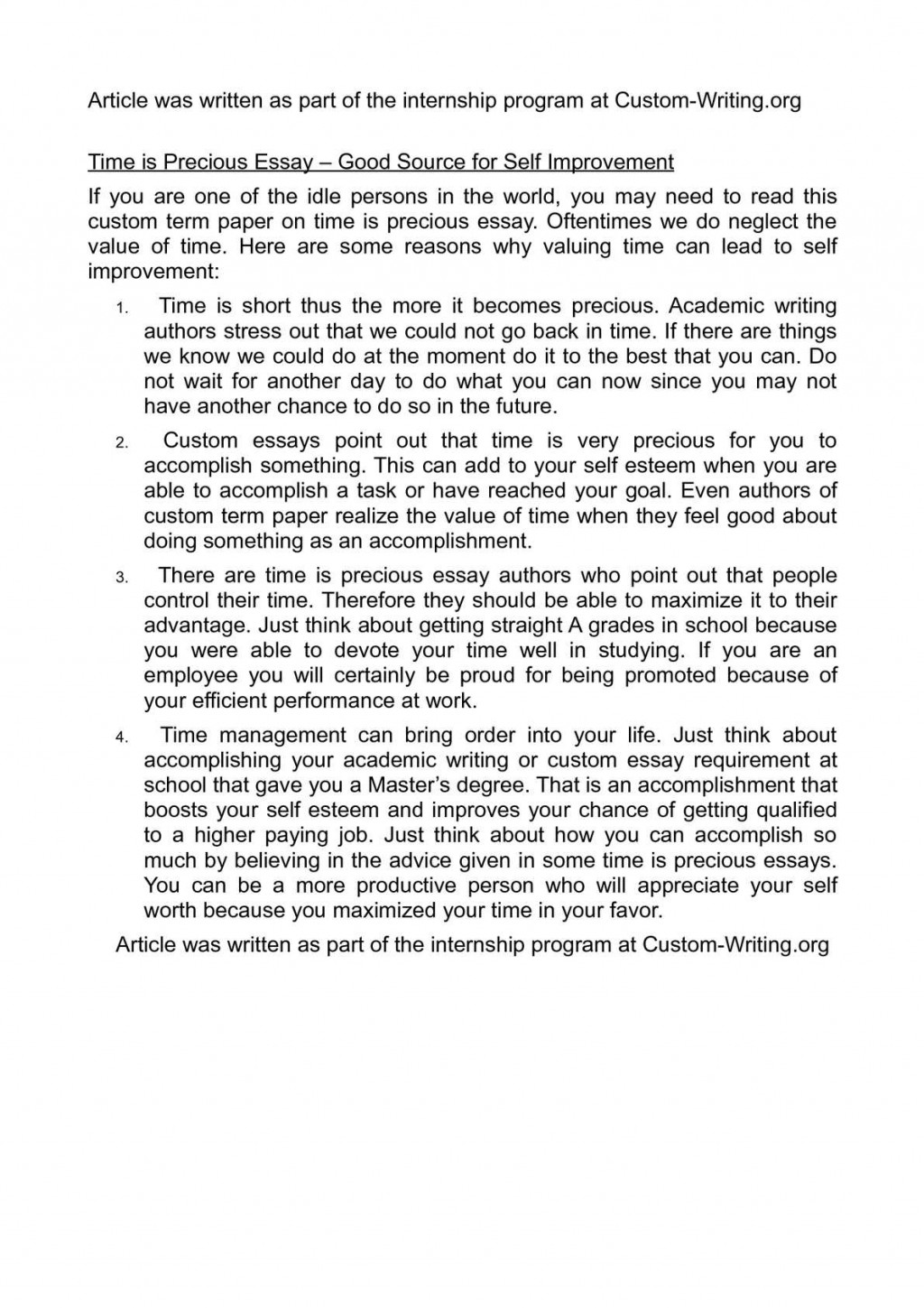 004 Essay Example P1 On Remarkable Time Management In Kannada Discount Code Large