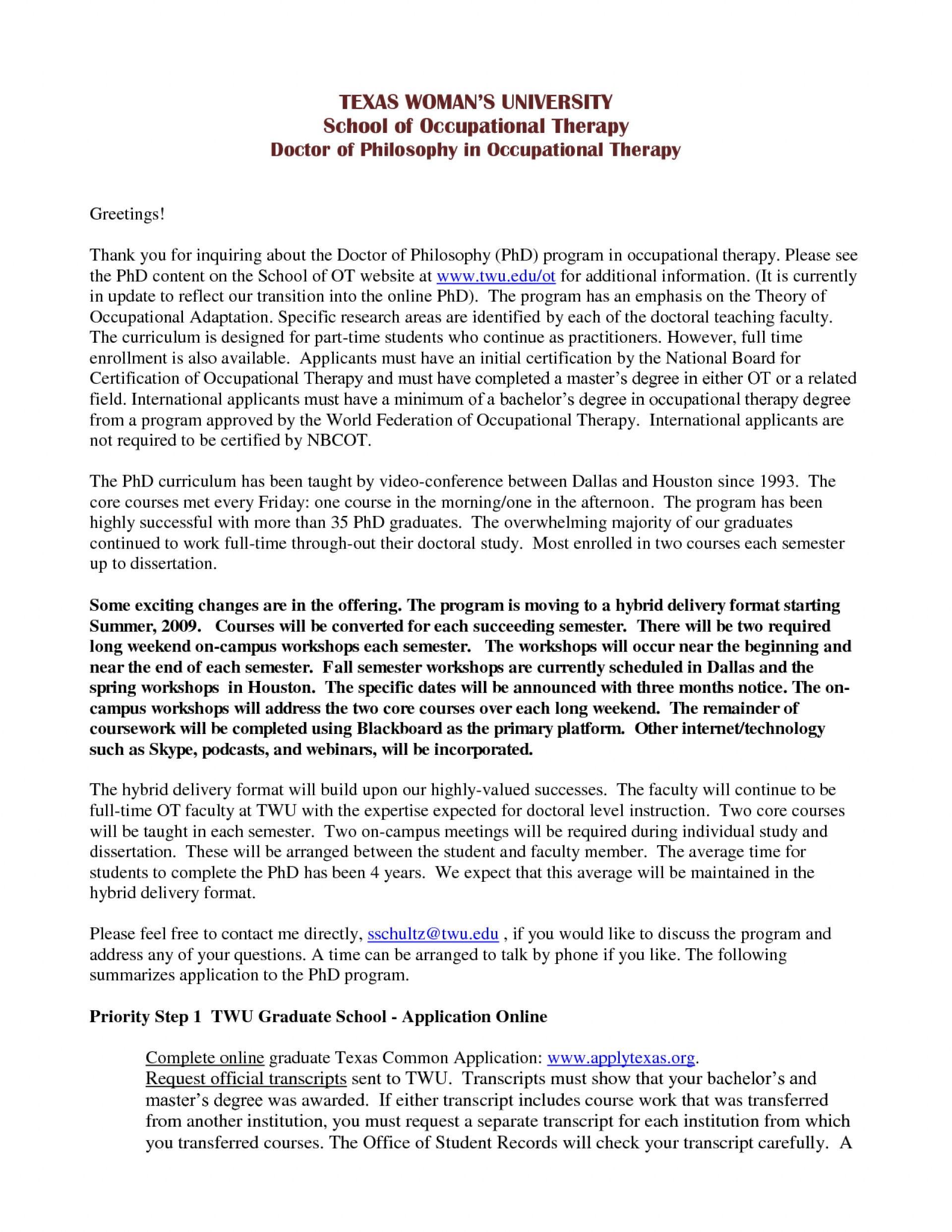 Psychology masters program personal statement