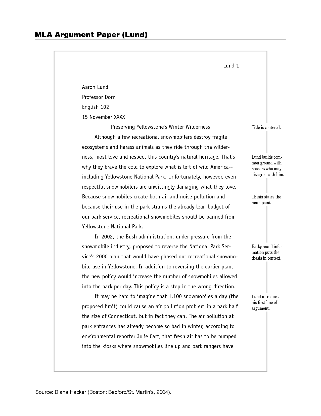 Essay on military life