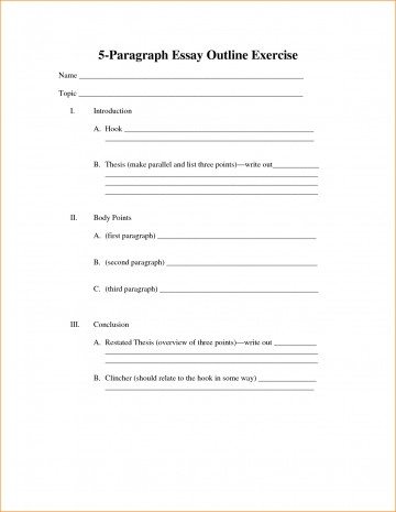 004 Essay Example Paragraph Outline Brilliant Ideas Of Five Template Charming Argumentativeure Impressive 5 Pdf Argumentative 360
