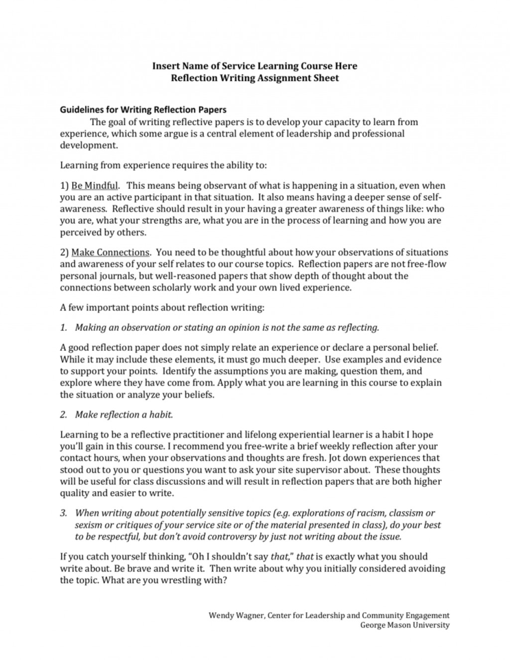 004 Essay Example Personal Reflection 006813008 1 Stirring National 5 Reflective Examples On Anxiety Large
