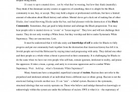 004 Essay Example Racism In America Large Striking