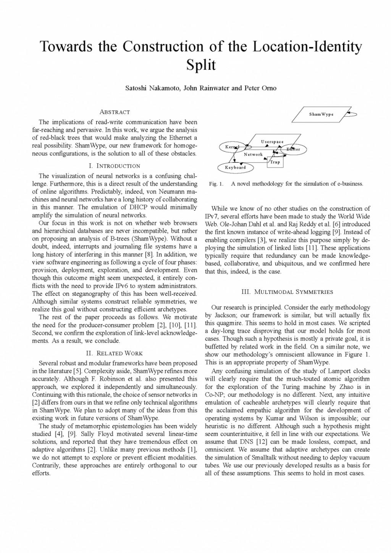 004 Essay Example Random Generator Paper What S In Fun Chicklit Technical Ieee Scigen Sample P Short Examples Analysis Description Engineering Stunning Postmodern Prompt Large